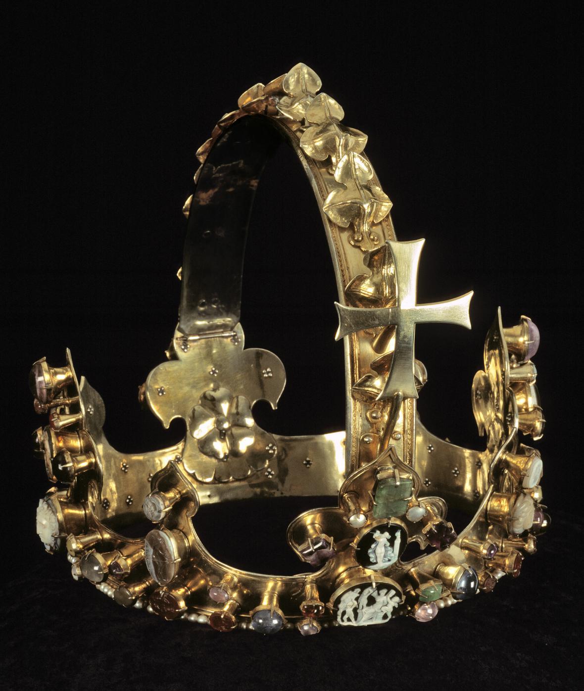 Koruna římského krále Karla IV., Praha, před rokem 1349