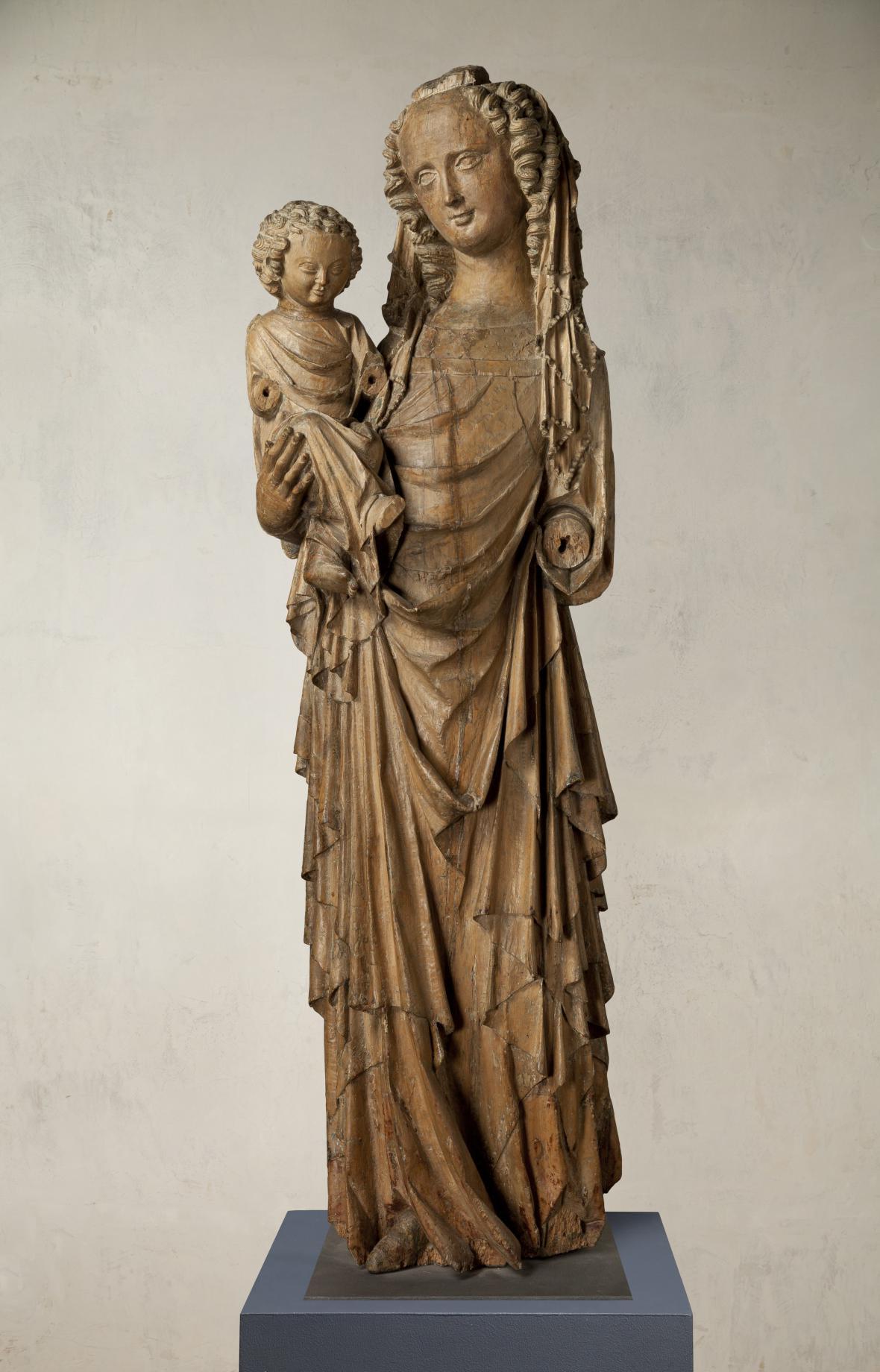 Michelská madona, Praha (?), Mistr Michelské madony, kolem 1330