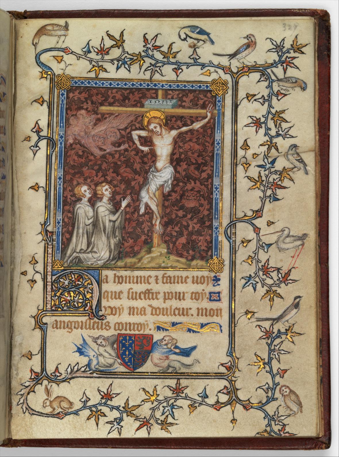 Modlitební kniha Bony Lucemburské, Jean Le Noir, před rokem 1349