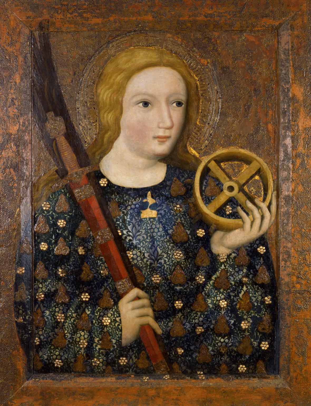 Sv. Kateřina, Mistr Theodorik, Praha, 1360-1364