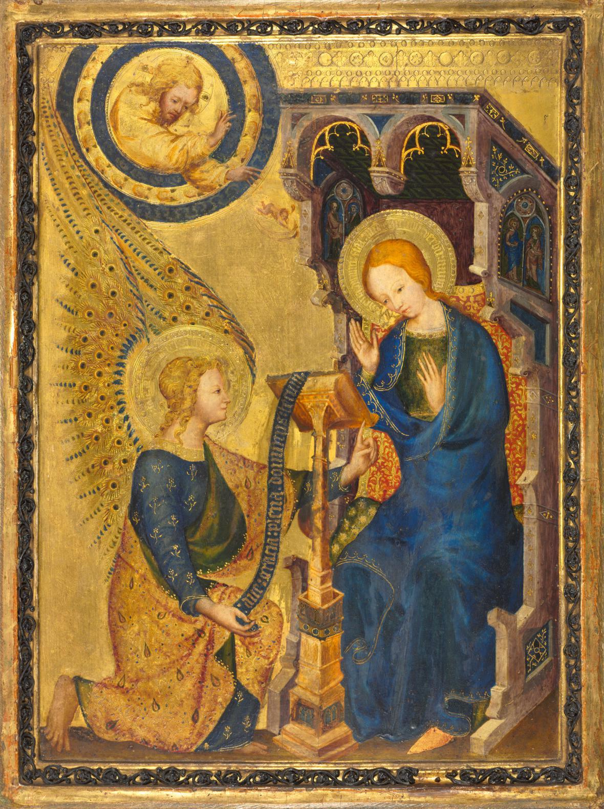 Zvěstování Panně Marii, zv. Sachsovo1350-1360