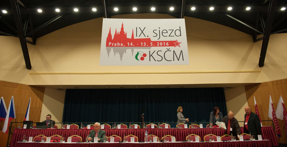 9. sjezd Komunistické strany Čech a Moravy v Praze