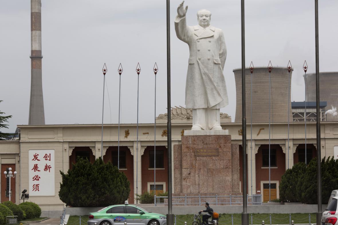 Socha Maa Ce-tunga v současné Číně