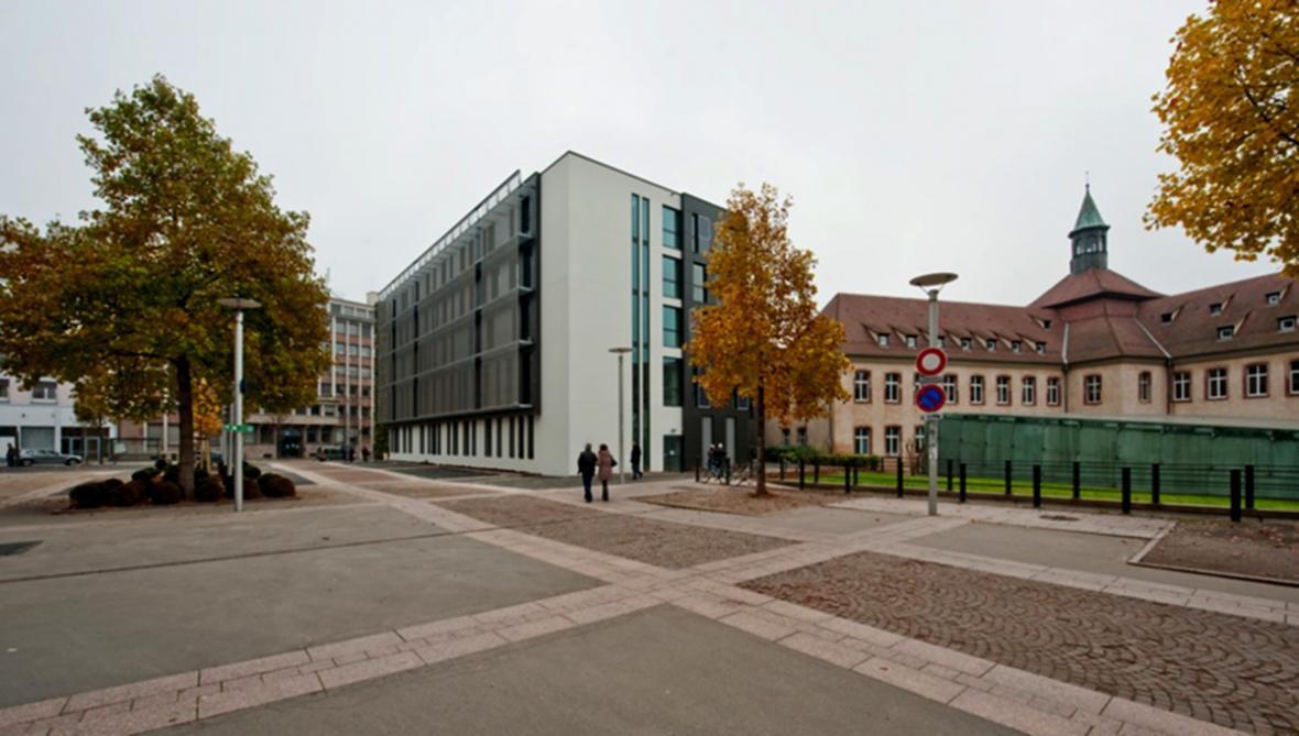 Budova ENA ve Štrasburku