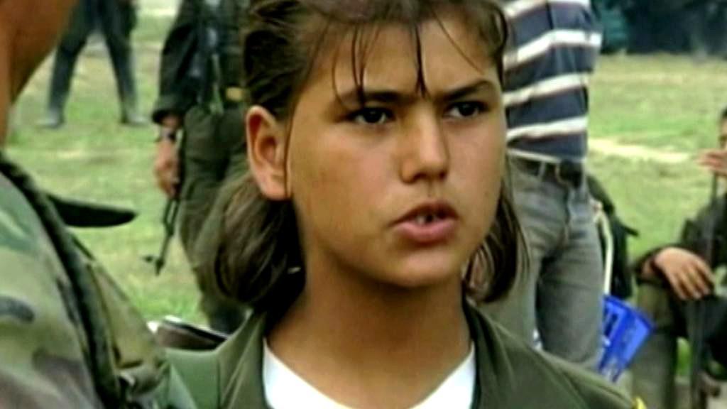 Dětský voják Farc