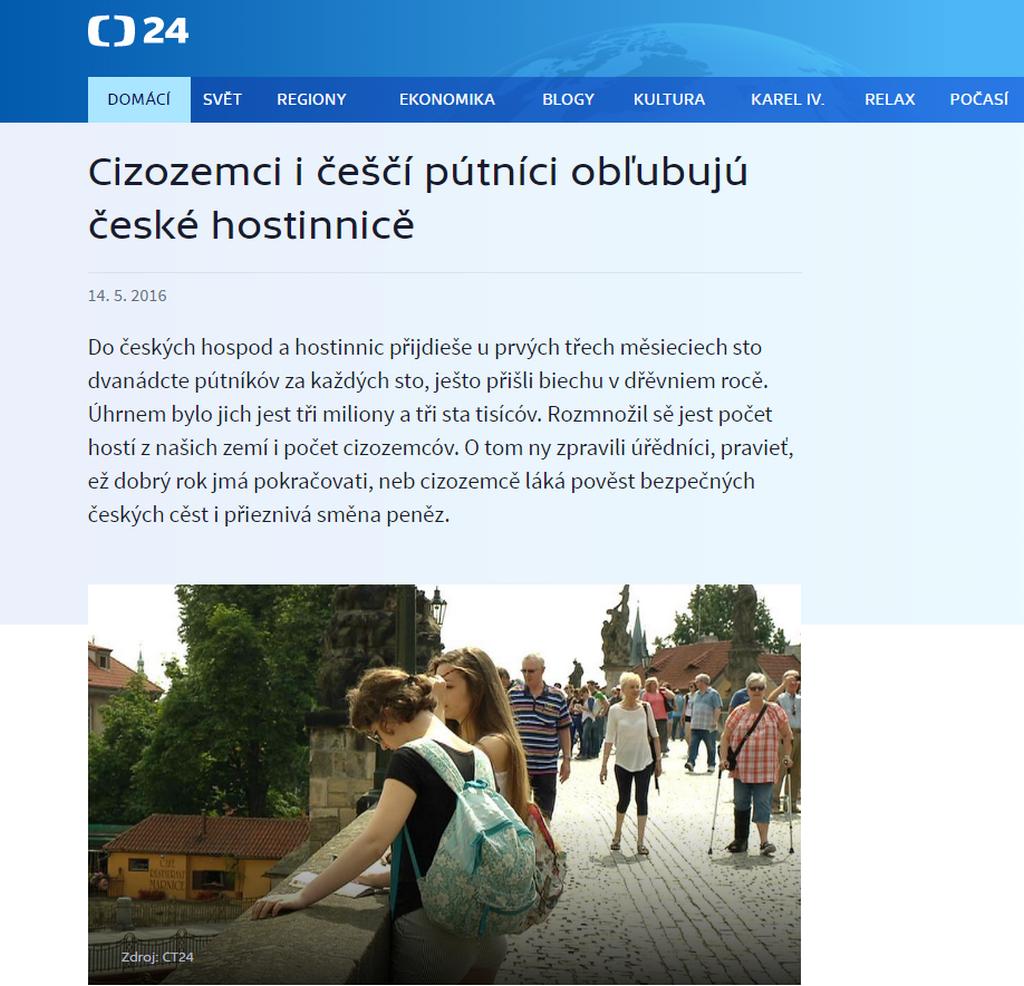 Staročeština na webu ČT24