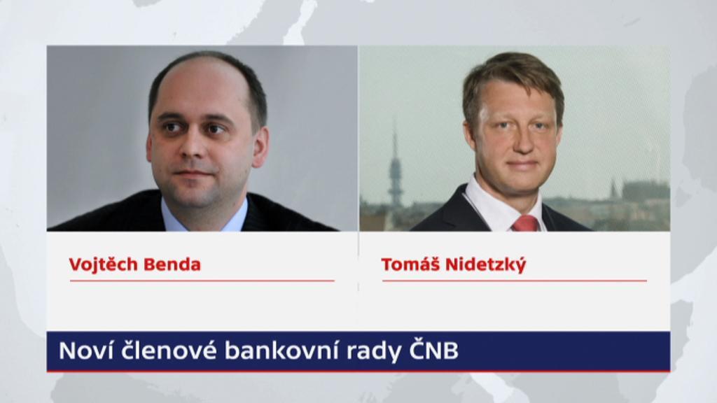 Noví členové bankovní rady ČNB