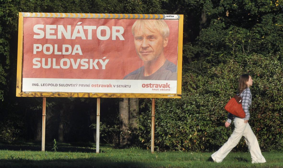 Kampaň před senátními volbami v roce 2012