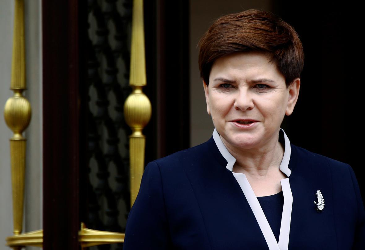 Polská premiérka Beata Szydlová