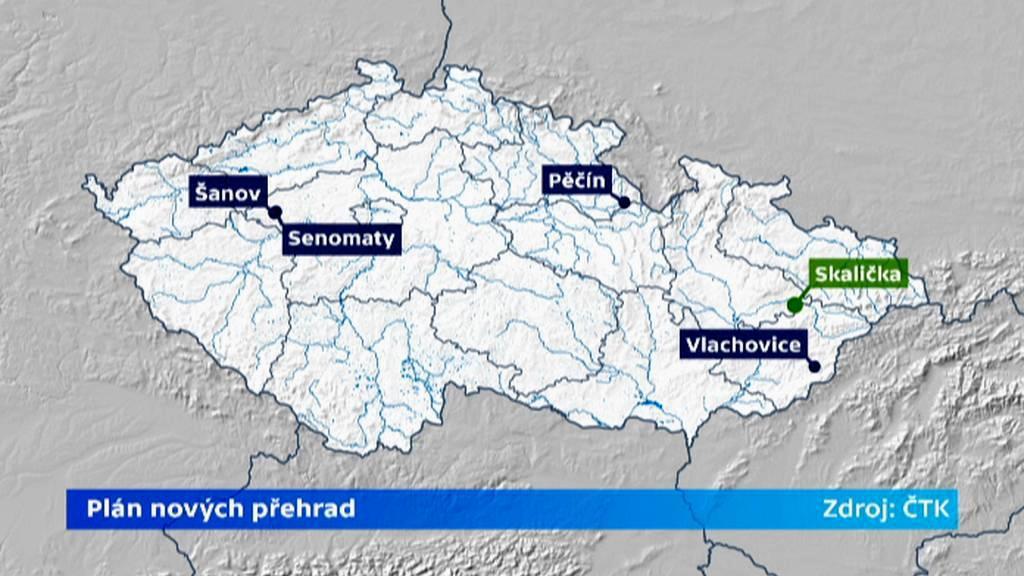 Plán nových přehrad