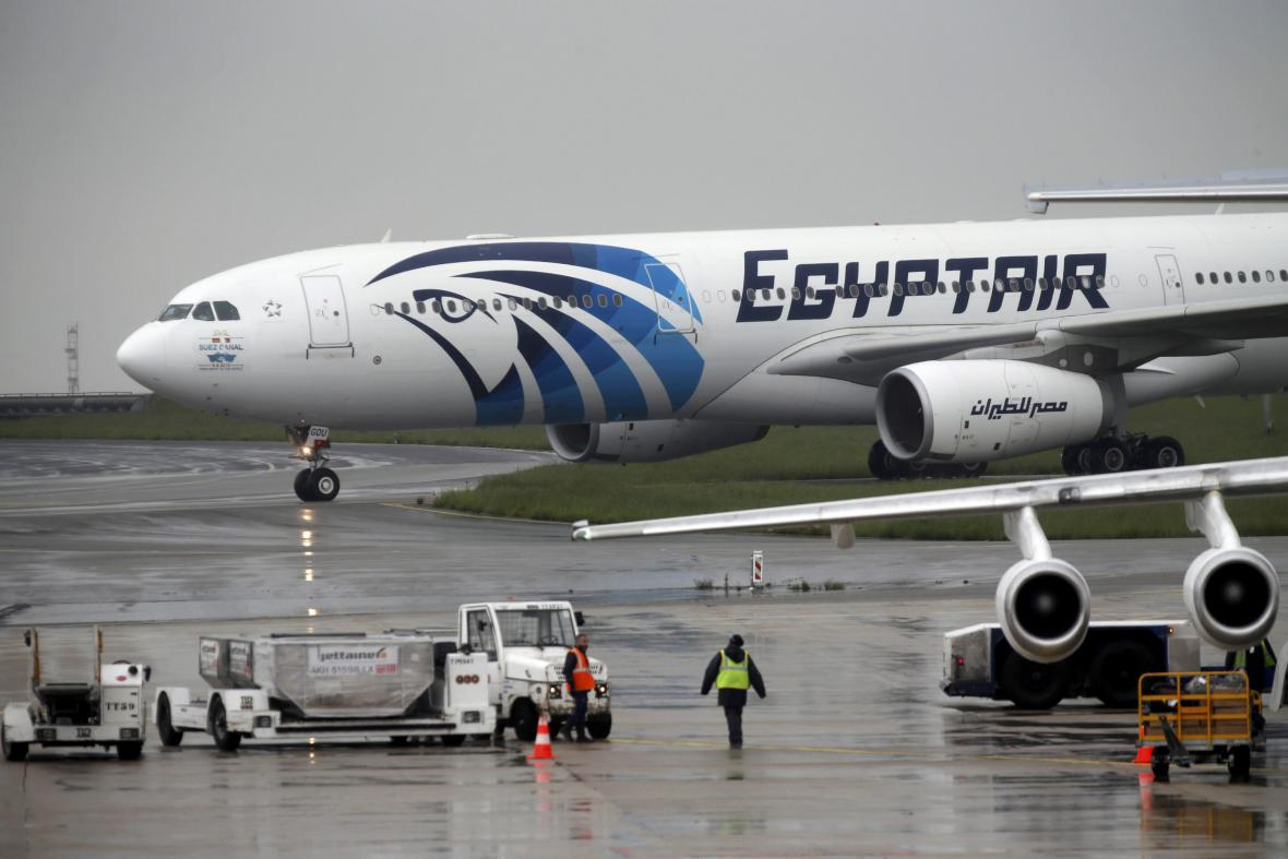 Letadlo společnosti EgyptAir