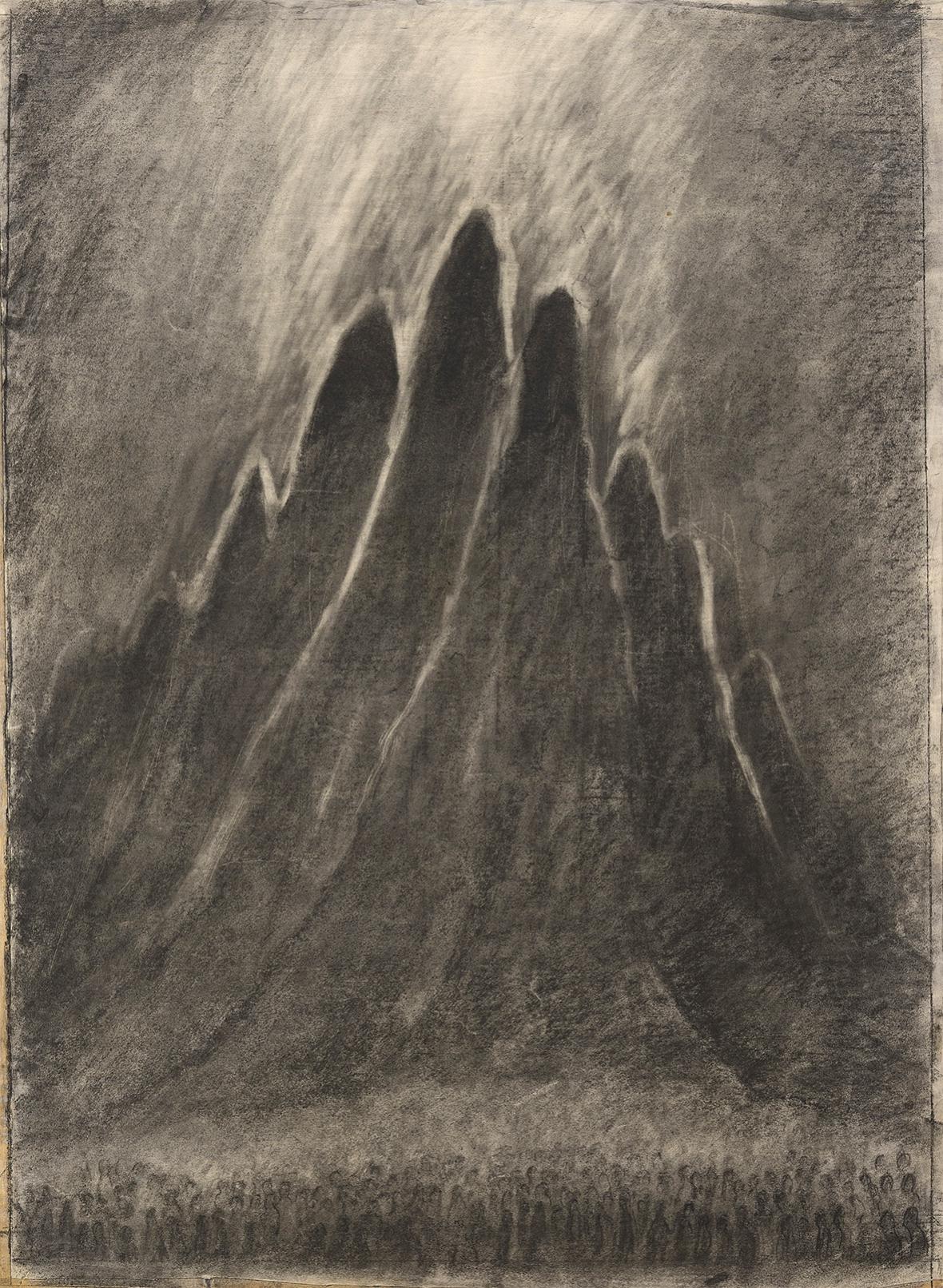 Alén Diviš / Hora Sinaj, 1950