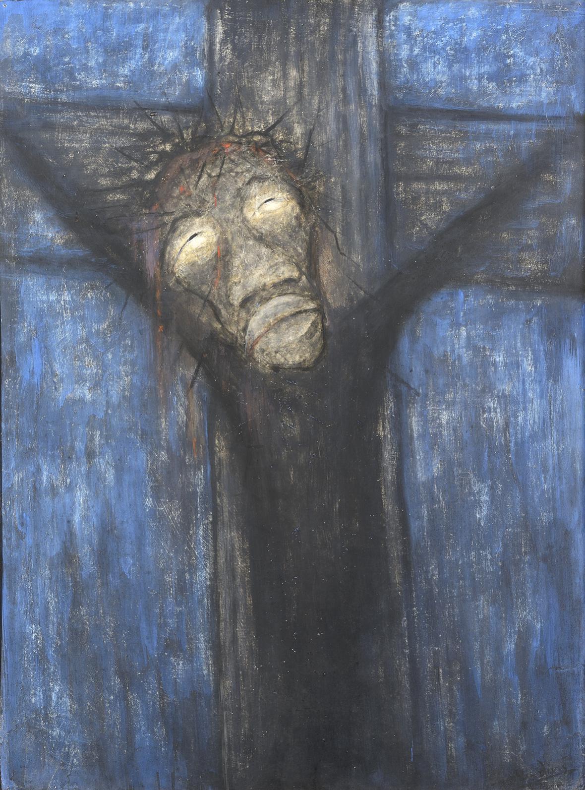 Alén Diviš / Kristus černochů, 1946