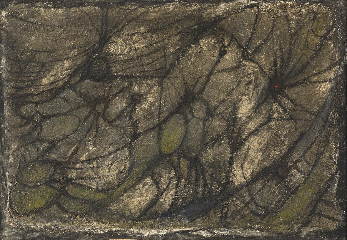 Alén Diviš / Pavouci a pavučiny, 1941