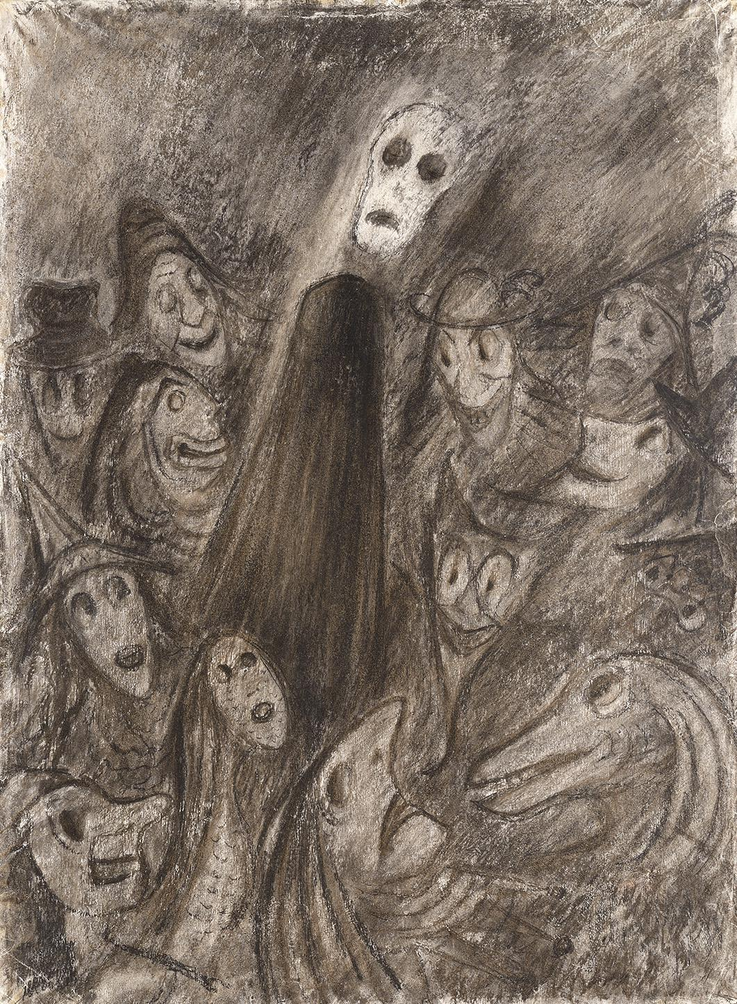 Alén Diviš / Maska rudé smrti (Poe), 1950