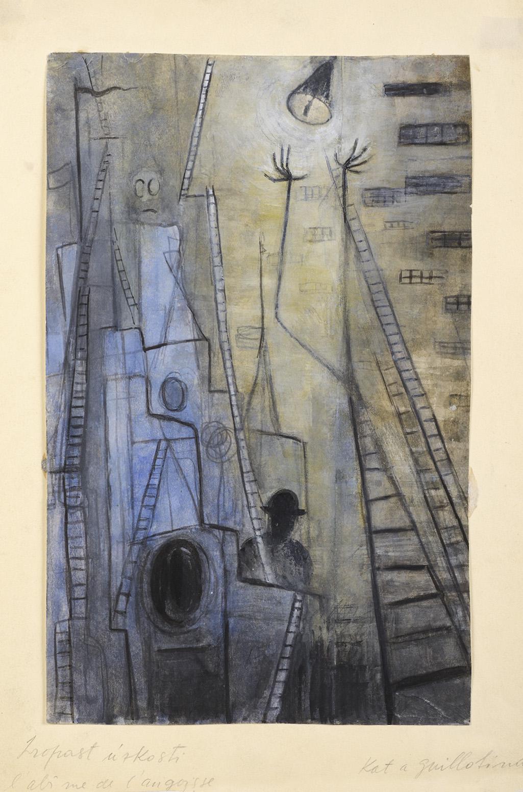 Alén Diviš / Propast úzkosti, 1945