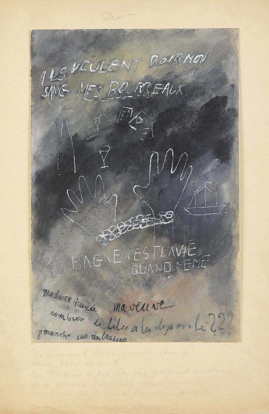 Alén Diviš / Zeď věznice, 1941