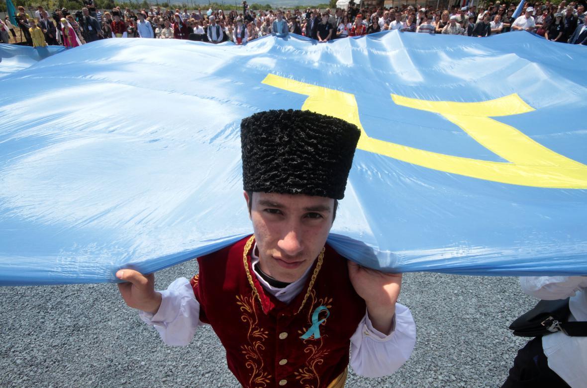 Historické události si připomněli i obyvatelé Krymu