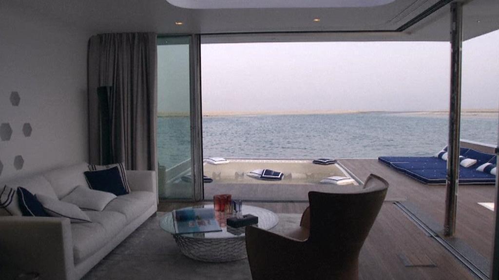 Interiér vily Mořský koník u Dubaje