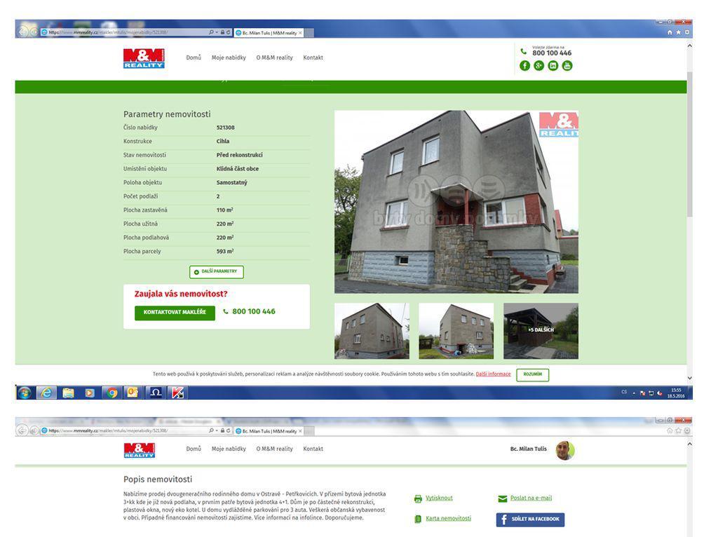 Dům v Ostravě - Petřkovicích je na prodej