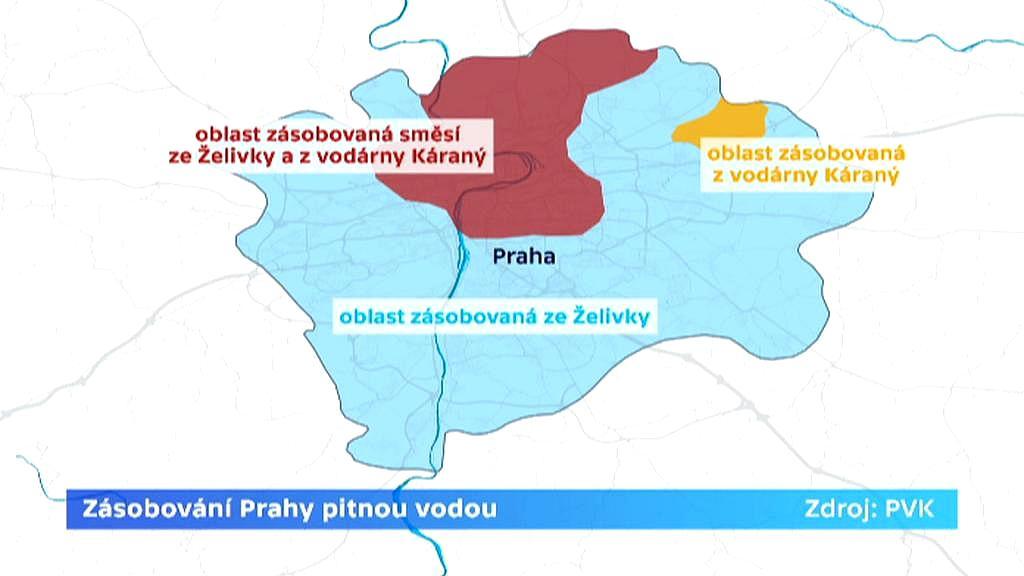 Zásobování Prahy pitnou vodou