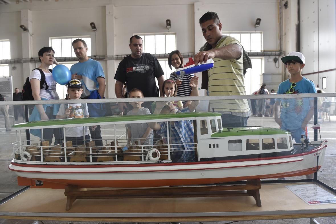 Výročí zahájení lodní dopravy v Brně