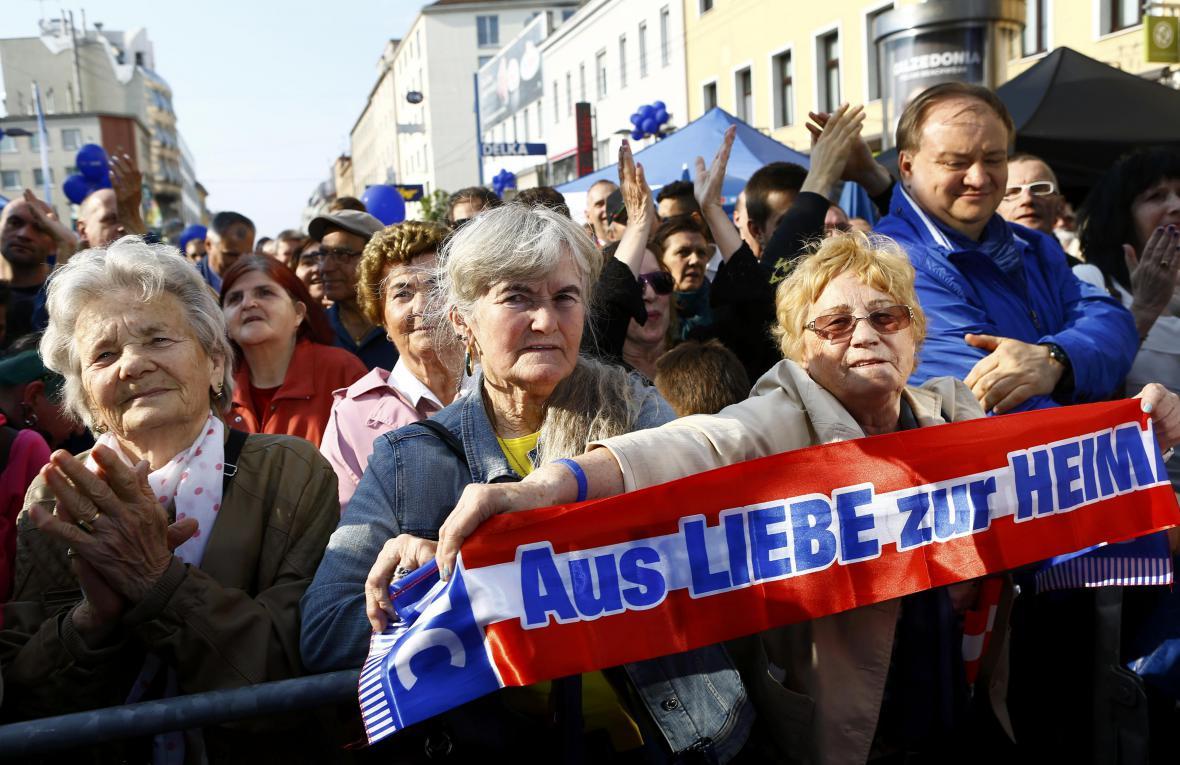 Stoupenci rakouských Svobodných