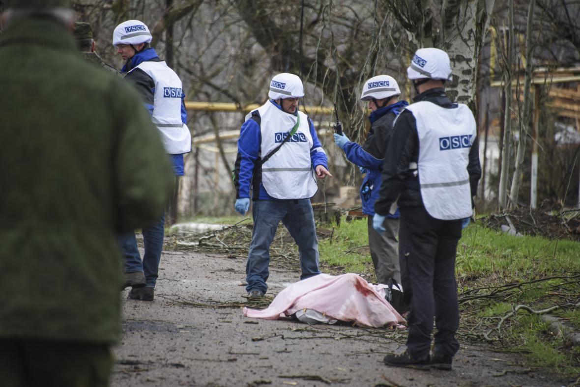 OBSE na východě Ukrajiny