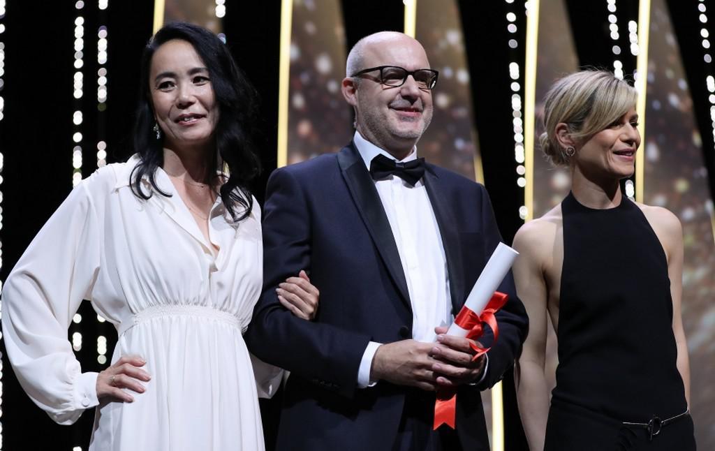 Juanjo Gimenez (uprostřed) na festivalu v Cannes
