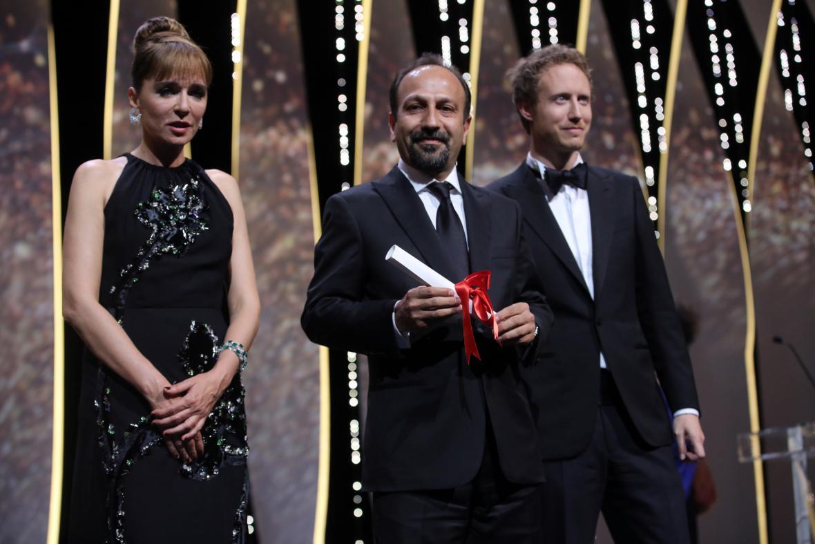 Asghar Farhadí v Cannes