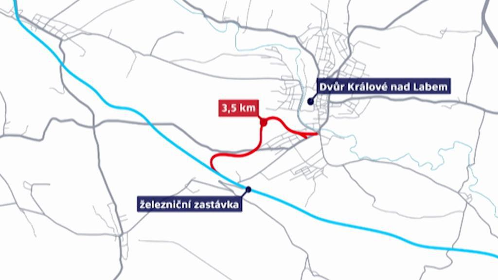 Jak by se mohly osobní vlaky dostat blíž centru Dvora Králové