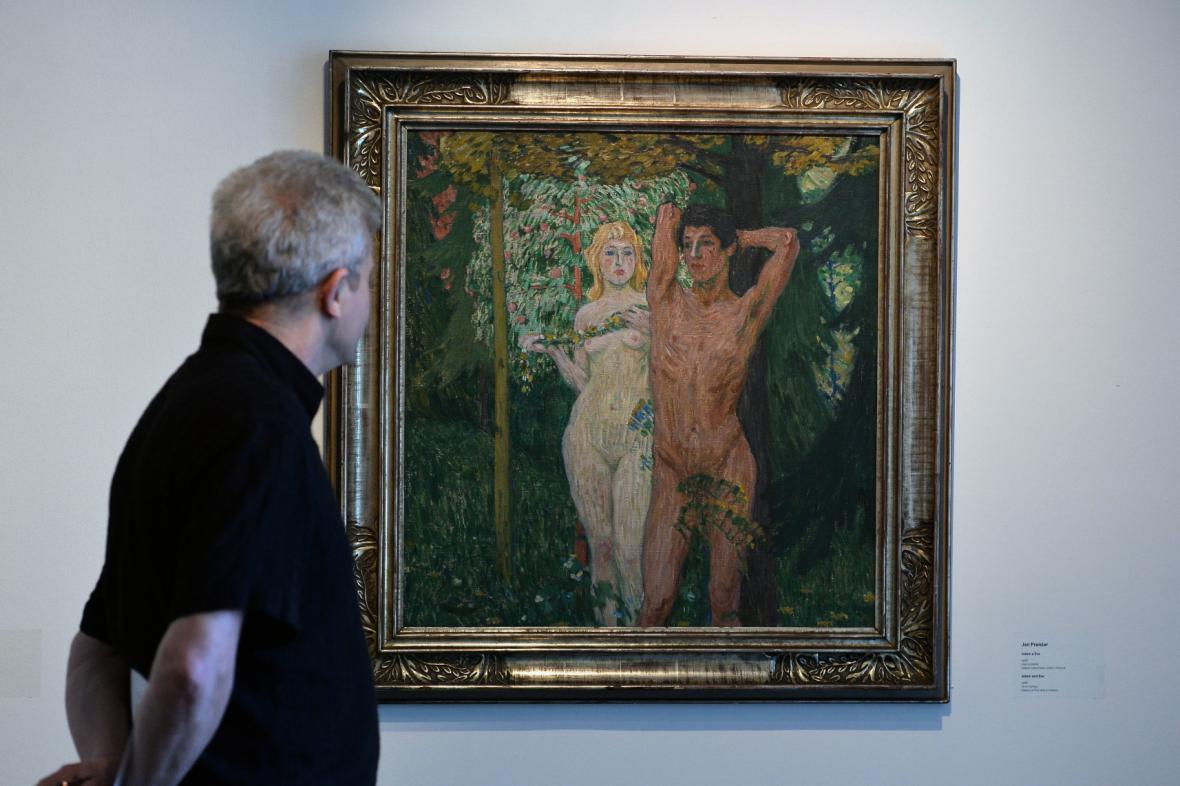 Jan Preisler / Adam a Eva