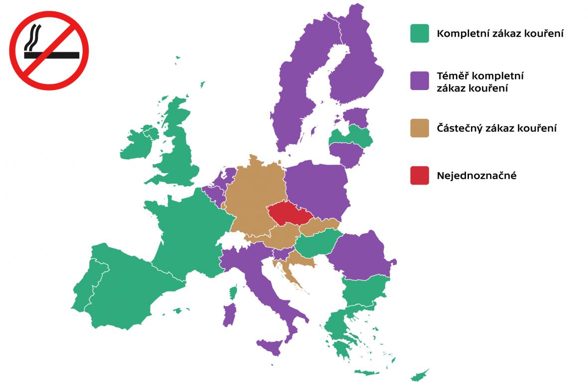 Restrikce kouření v zemích EU