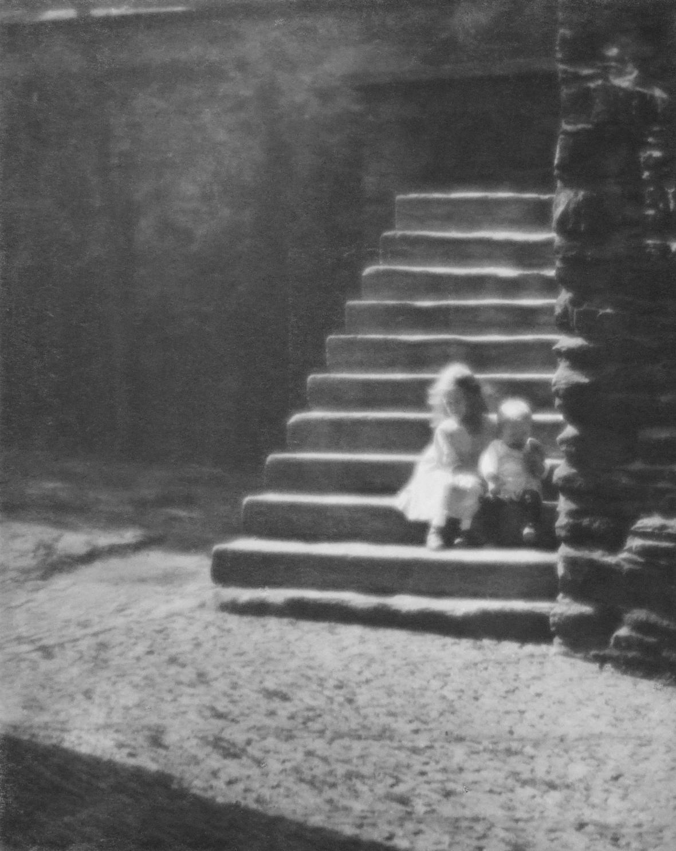 Jaromír Funke / Děti na schodech, 1922-24