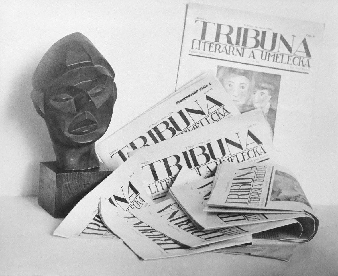 Jaromír Funke / název nezjištěn, objekt od Zdeňka Rykra, 1924