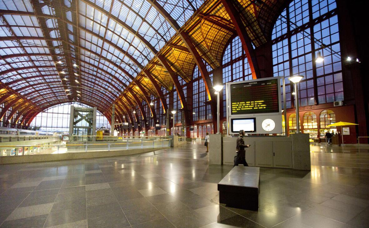 Hlavní nádraží v Antverpách