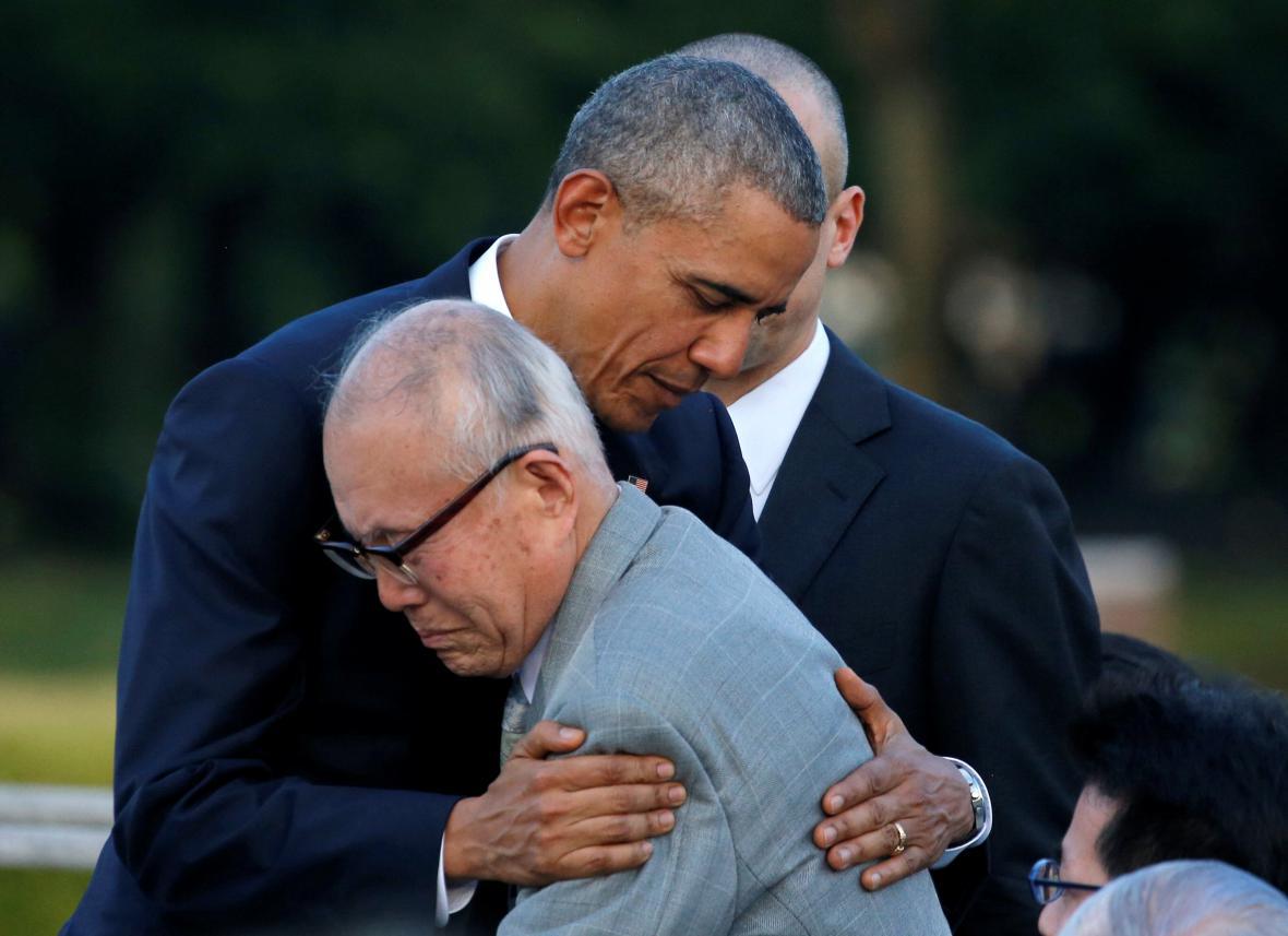 Obama v Hirošimě