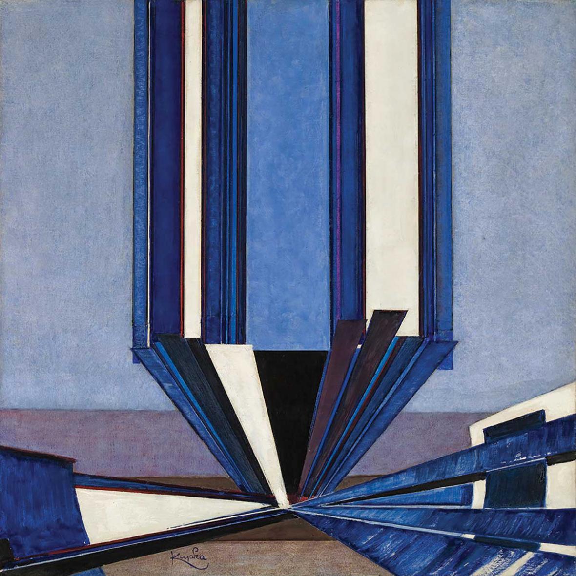 František Kupka / Tvar modré A II