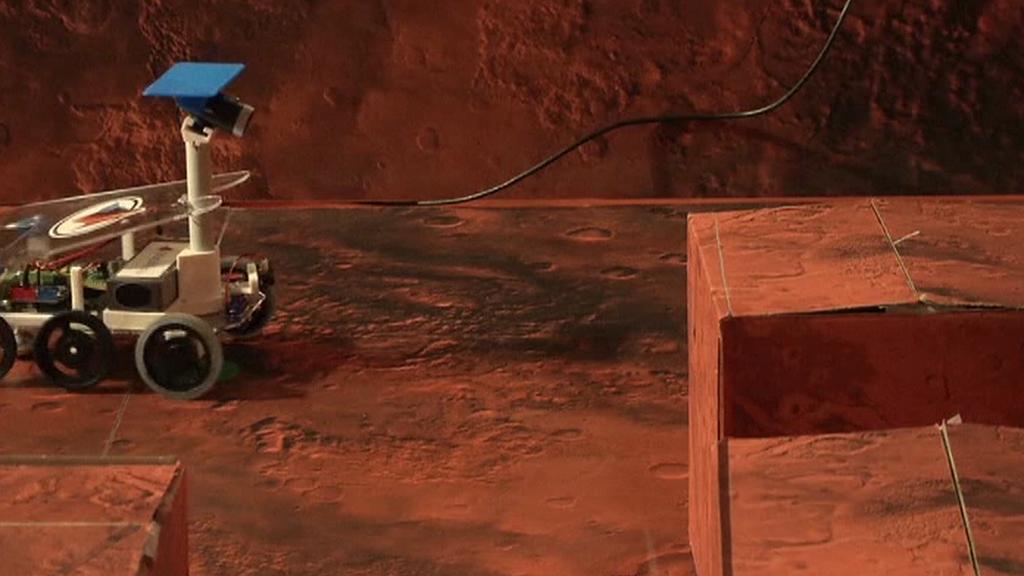 Simulace výzkumu na Marsu