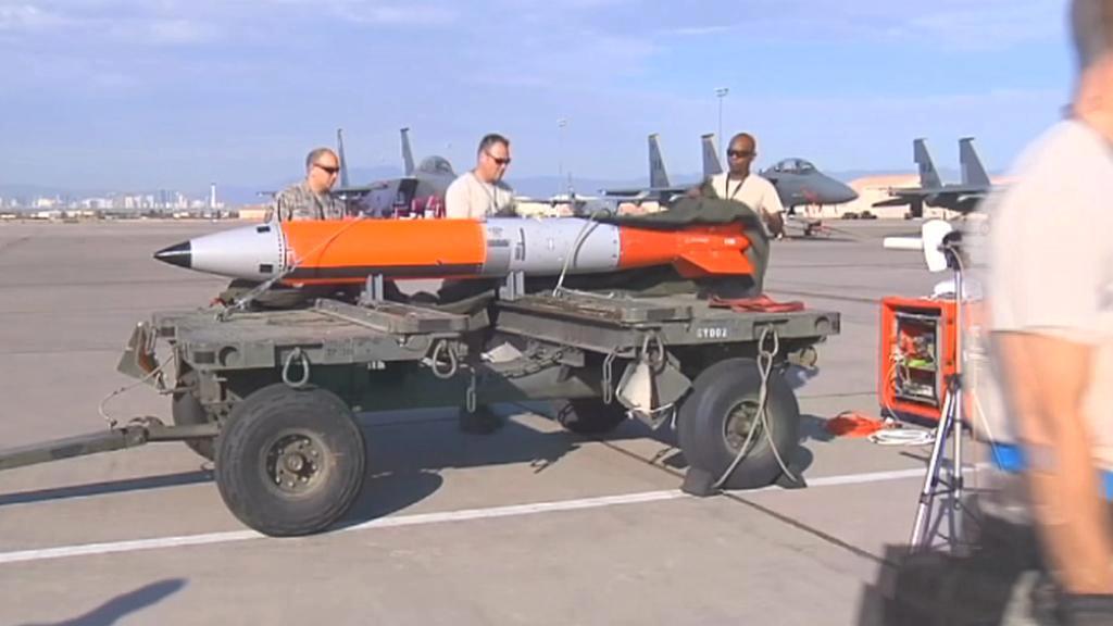 Nová americká raketa testovaná v nevadské poušti