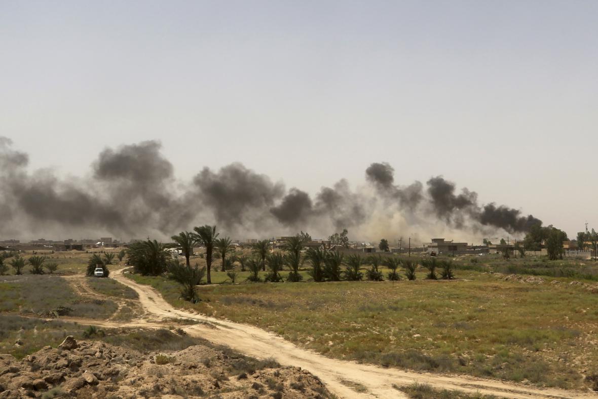 Boje u iráckého města Fallúdža