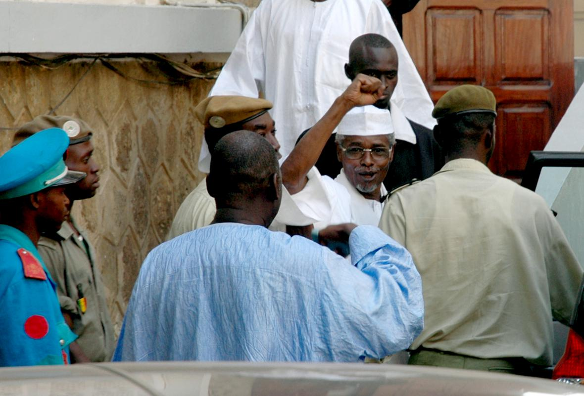 Čadský prezident Hissene Habré