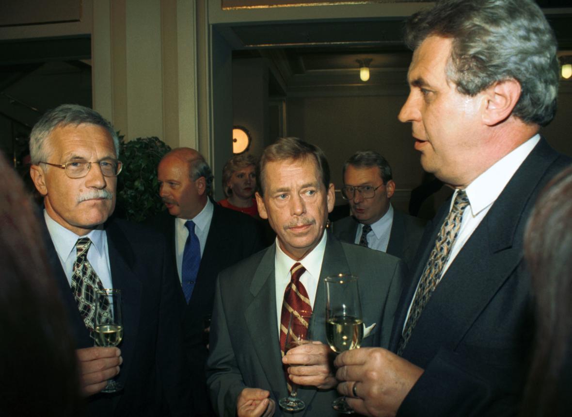 Klaus, Havel a Zeman
