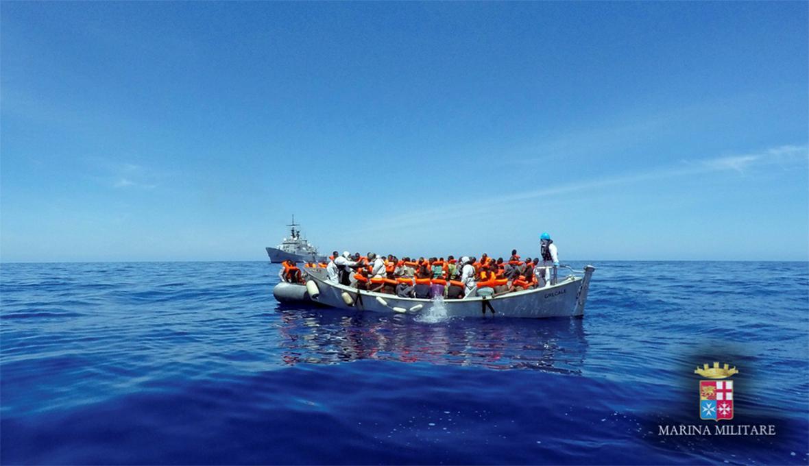 Migranti na moři