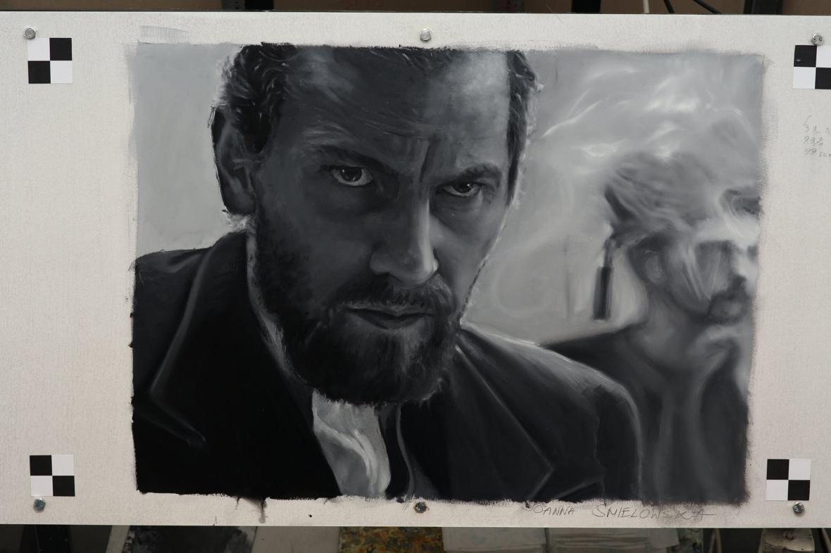 Záběr z filmu Loving Vincent