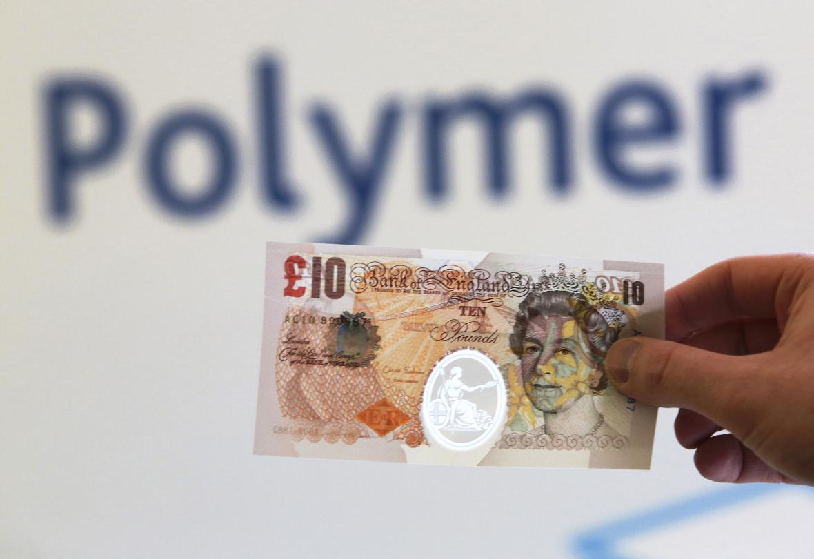 Desetilibrová polymerová bankovka