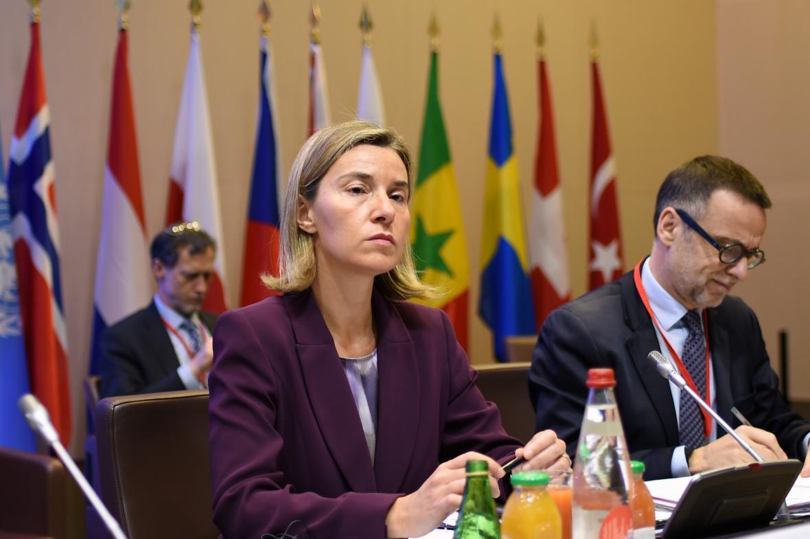 Šéfka unijní diplomacie Federika Mogheriniová