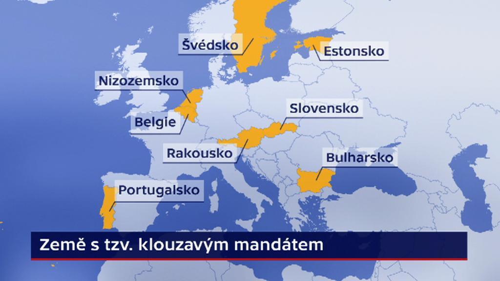 Klouzavý mandát v Evropě