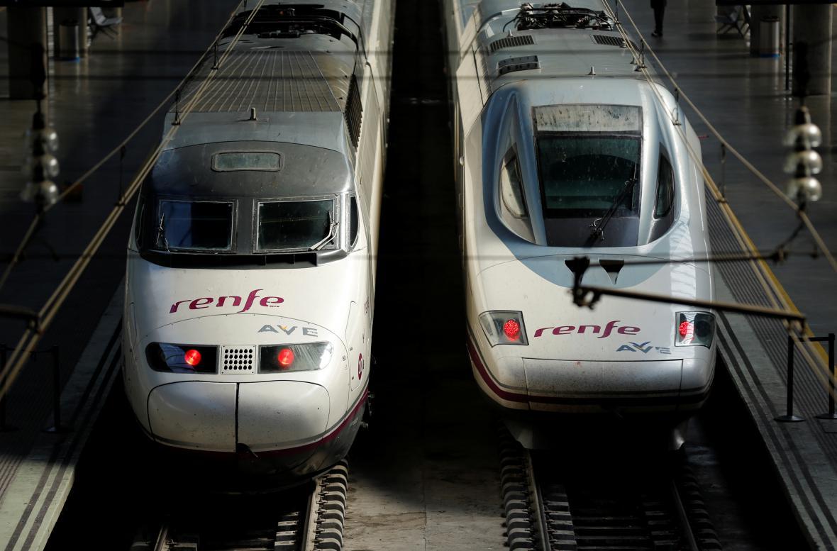 Španělské vysokorychlostní vlaky