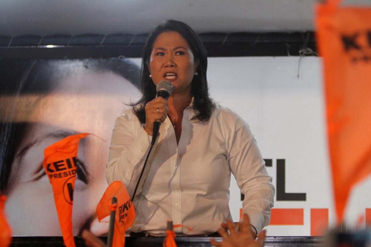 Keiko Fujimoriová zatím odmítá uznat porážku